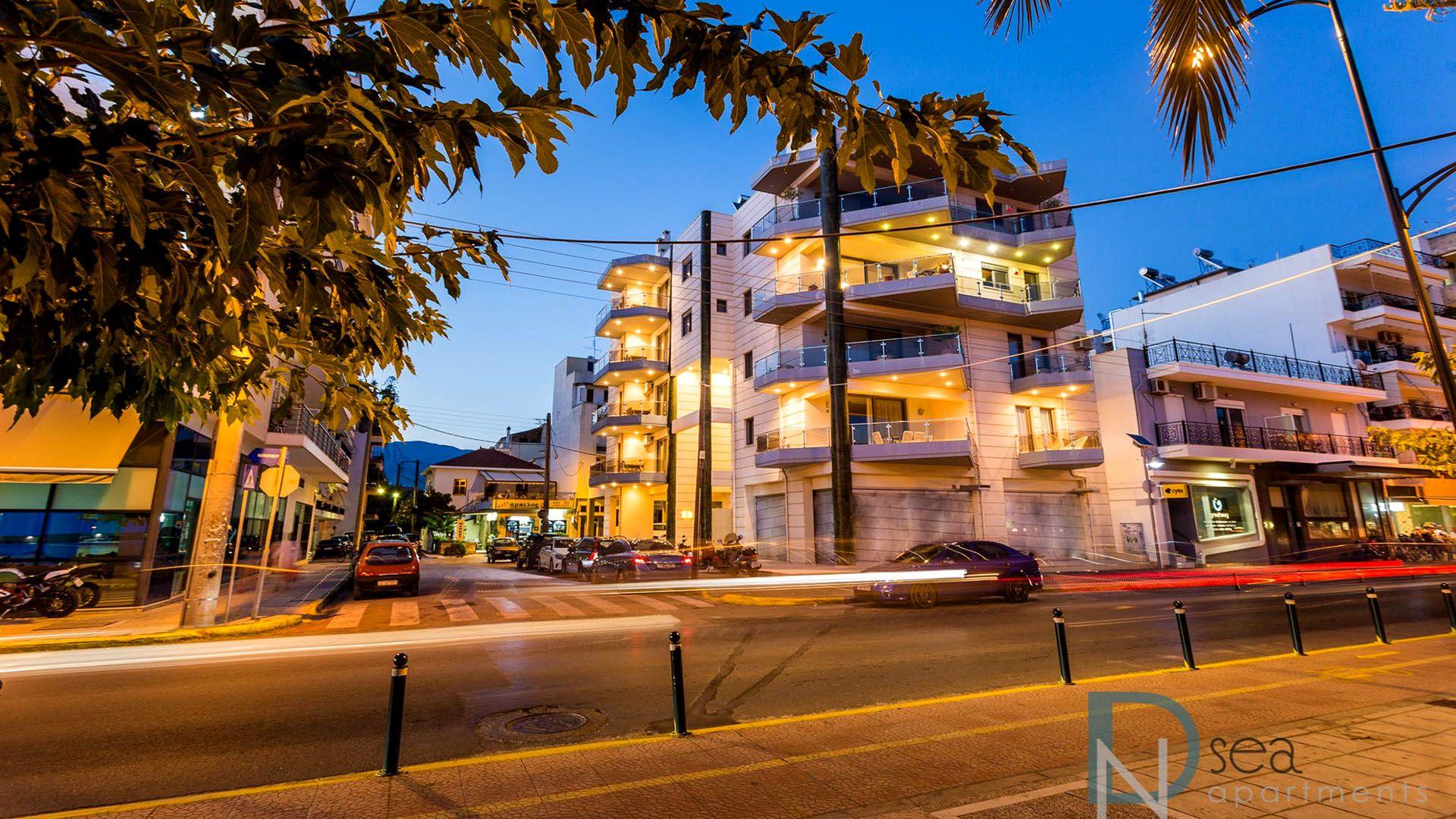 διαμονή Καλαμάτα Μεσσηνια - DN Sea Apartments